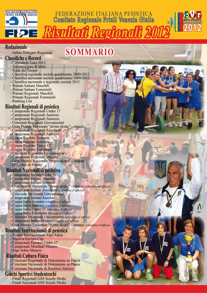 book risultati 2012